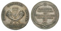 Silbermedaille 1816 Habsburg Bayern Franz II./I., 1792 - 1835 Kl. Randk... 85,00 EUR  Excl. 3,00 EUR Verzending