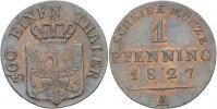 Pfennig  1827 Preussen Friedrich Wilhelm III., 1797-1840. vz  35,00 EUR  Excl. 3,00 EUR Verzending