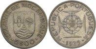 5 Escudos 1935 Port. Mosambik  ss