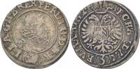 RDR Böhmen Prag 3 Kreuzer Ferdinand II., 1619-1637.