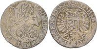 3 Kreuzer 1642 RDR Böhmen Prag Ferdinand I...