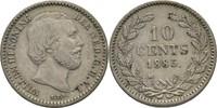 10 Cent 1885 Niederlande Wilhelm III. 1849...