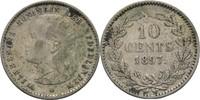 10 Cent 1897 Niederlande Wilhelmina I. 189...