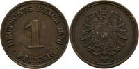 Pfennig 1876 C Deutsches Reich Frankfurt  vz