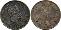 50 Centesimi 1863 M Italien Viktor Emanuel...
