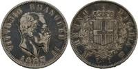 Lira 1867 Italien Viktor Emanuel II., 1861...