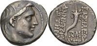 Drachme 153-152 Seleukiden Antiocha / Oron...