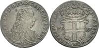 5 Soldi 1736 Italien Sardinien Savoyen Car...