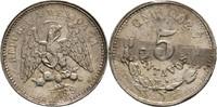 5 Centavos 1889 Mexico  Kratzer, sonst fas...