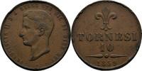 10 Tornesi 1859 Italien Neapel und Sizilie...