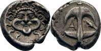 Drachme 400-300 Thrakien Apollonia Pontica...