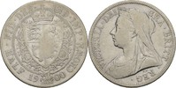 1/2 Crown 1900 Grossbritannien Victoria, 1...