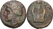 Bronze 337-250 Sizilien Tauromenion  ss