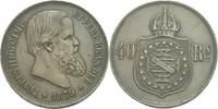 40 Reis 1879 Brasilien Pedro II., 1831-188...