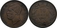 10 Para 1868 Serbien Michael III. Obrenovi...