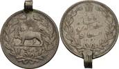 5000 Dinars (5 Kran) 1902 Iran Muzaffar al...