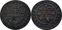 1/4 Macuta 1763 Port. Angola Joseph I., 17...
