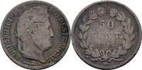 50 Centimes 1845 B Frankreich Louis Philip...