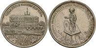 versilberte Bronzemedaille 1800-1850 ? Bad...
