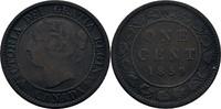 1 Cent 1859 Kanada Victoria, 1837-1901 ss-