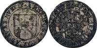 3 Kreuzer 1596 Elsass Murbach und Lüders A...