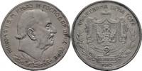 2 Perpera 1910 Montenegro Nikolaus I., 186...