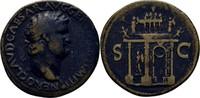Sesterz 64 RÖMISCHE KAISERZEIT Nero, 54-68 ss
