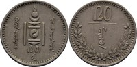 20 Mongo 1937 Mongolei  vz