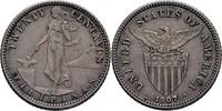20 Centavos 1907 Philippinen  vz