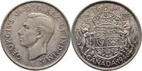 50 Cents 1946 Kanada George VI., 1936-52 f...