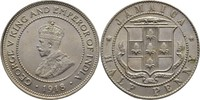 1/2 Penny 1918 C Jamaika George V., 1910-3...