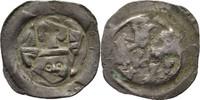 Pfennig 1247-1256 Salzburg Philipp von Kär...