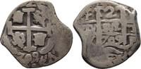 2 Reales 1709 Bolivien Spanien Potosi Phil...