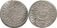 Kreuzer 1700 RDR Ungarn Preßburg Leopold I...