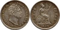 4 Pence 1837 Großbritannien William IV., 1...