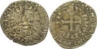 Gros Tournois o.J. 1364 Frankreich Charles...