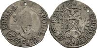 3 Kreuzer 1685 RDR Böhmen Kuttenberg Leopo...