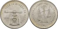 1 Onza 1980 Mo Mexiko Spindelpresse prägef...