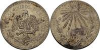 1 Peso 1919 Mexiko Strahlende Freiheitsmüt...
