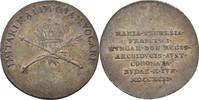 Jeton = 3 Feinsilberkreuzer 1792 RDR Ungar...