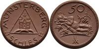 50 Pfennig o. J. Schlesien - Münsterberg S...