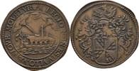 Rechenpfennig Jeton o.J. 1684-1685 Belgien...