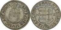Groschen 1614 RDR Ungarn Nagybanya Matthia...