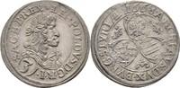3 Kreuzer 1668 RDR Steiermark Graz Leopold...