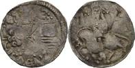 Dinar 1355-1371 Serbien Stefan Uros V., 13...