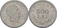 500 Lei 1946 Rumänien Michael I., 1940-47 ...