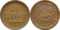 1 Centavo 1881 Guatemala  vz
