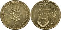 50 Francs 1977 Ruanda Essay - Probe Teestr...