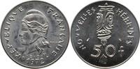 50 Francs 1972 Franz. Hebriden - Vanuatu E...
