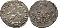 Maly Groschen 1618 RDR Böhmen Kuttenberg M...